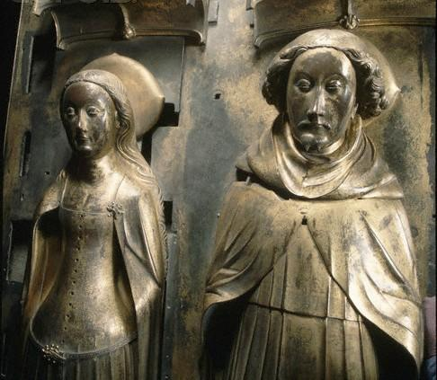 Effigy of richard and anne