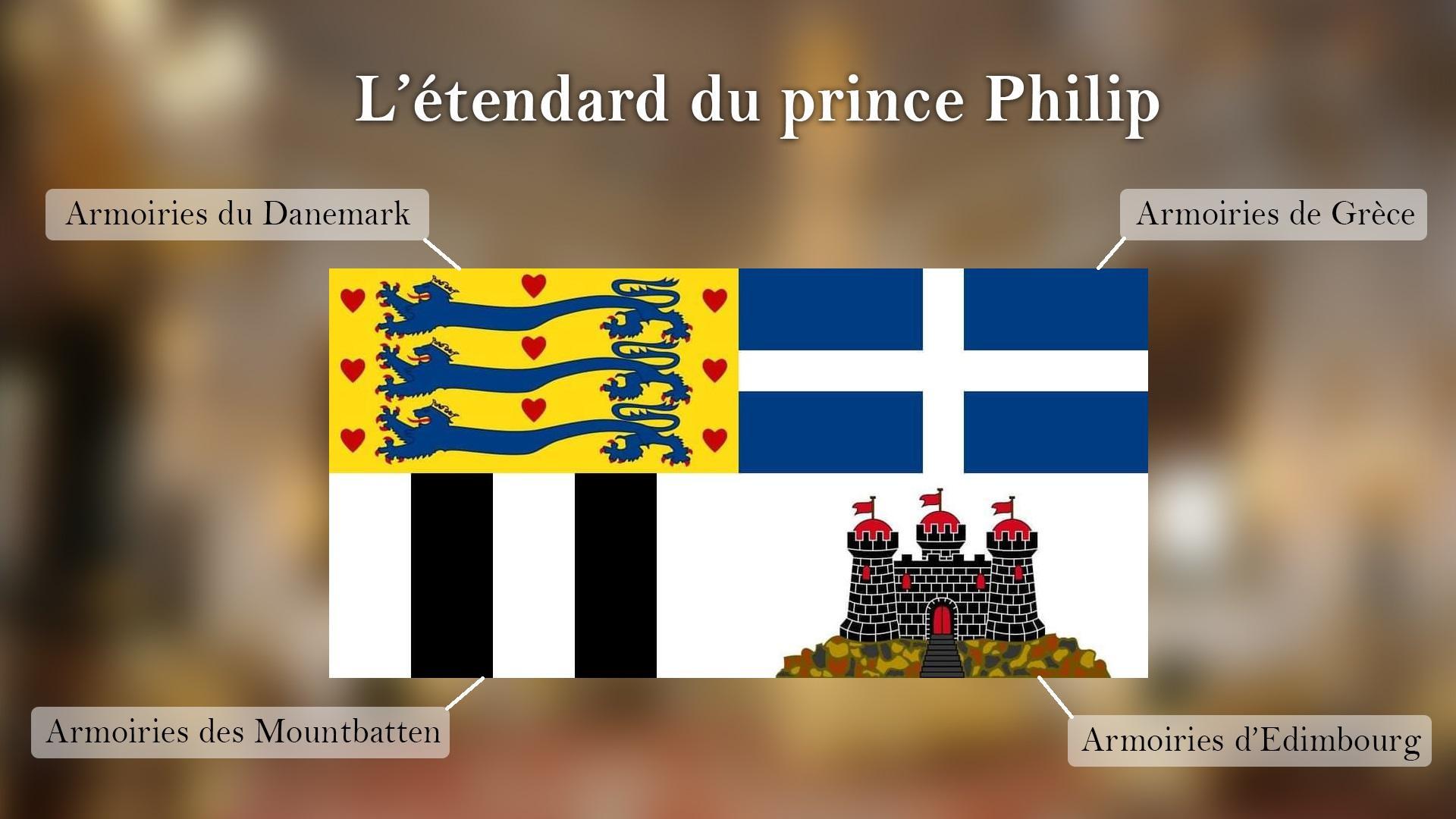 Etendard prince philip