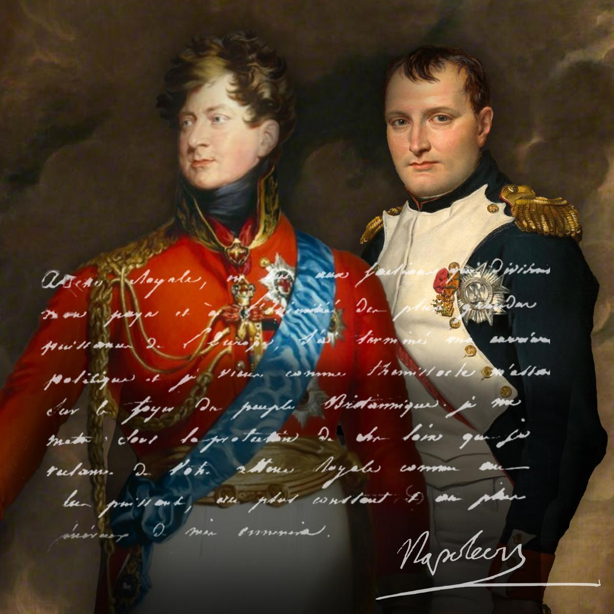 George iv napoleon lettre 2