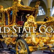 Gold state coach