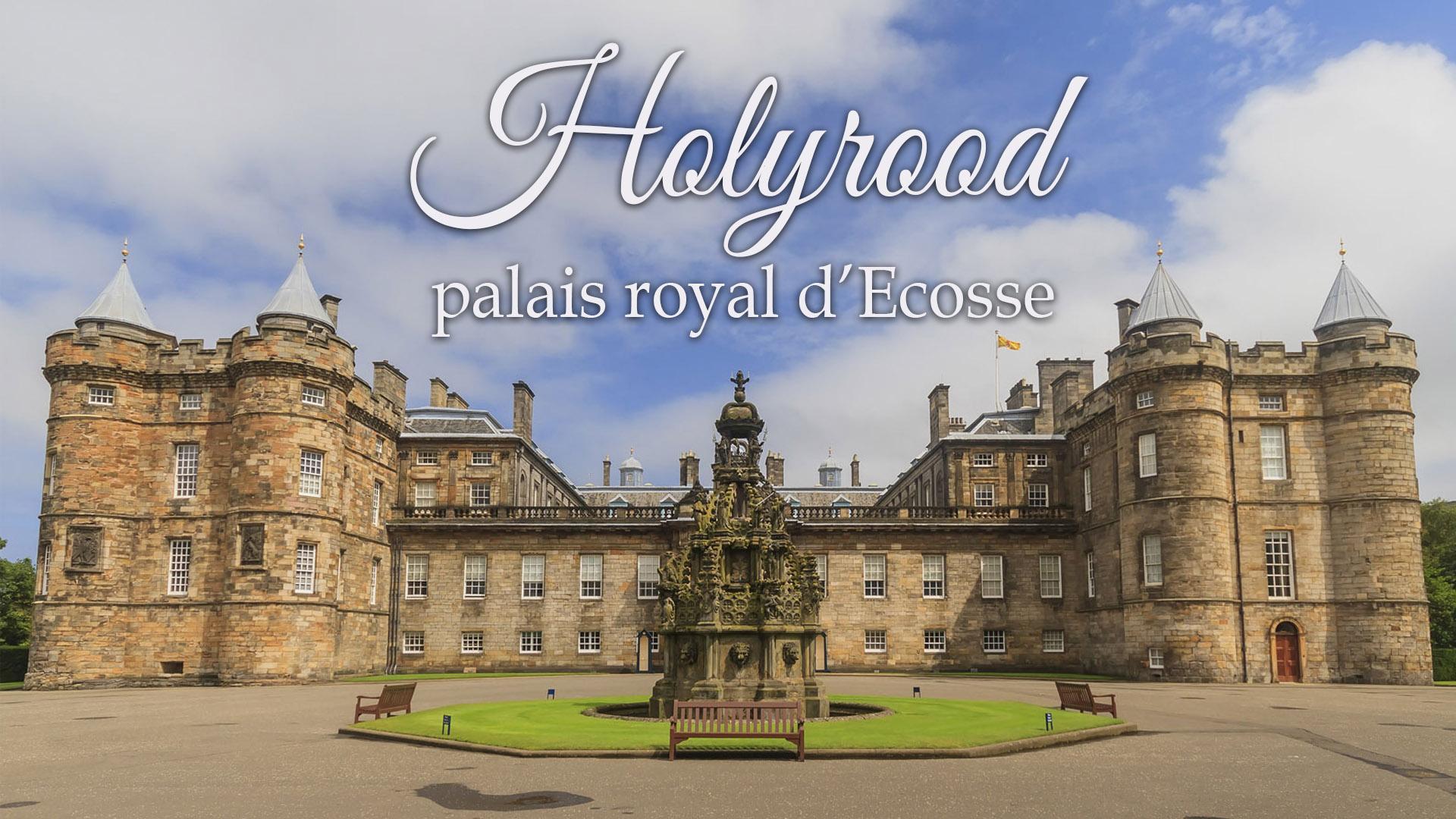 Holyrood affichage