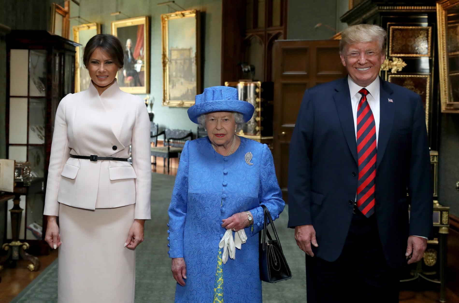 La rencontre entre elizabeth ii et les trump en images photo 7