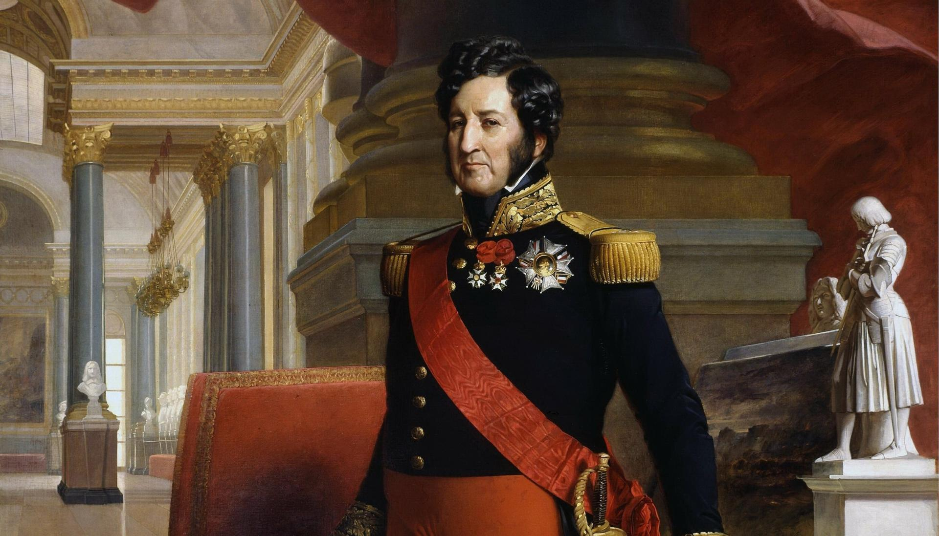 Louis philippe i king of the french by franz xaver winterhalter