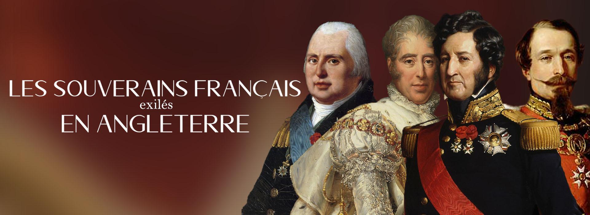 Monarchie francaise en exil en angleterre