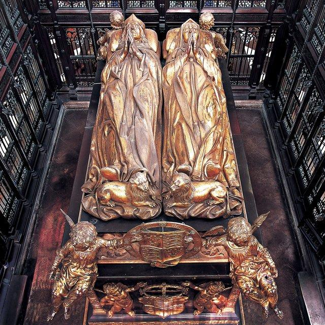 Pietro torrigiano tomb of king henry vii and queen elizabeth of york 1512 18 gilt q640