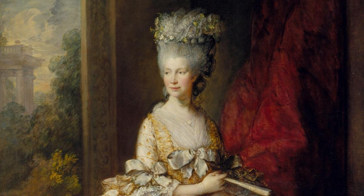 Queen charlotte by studio of thomas gainsborough
