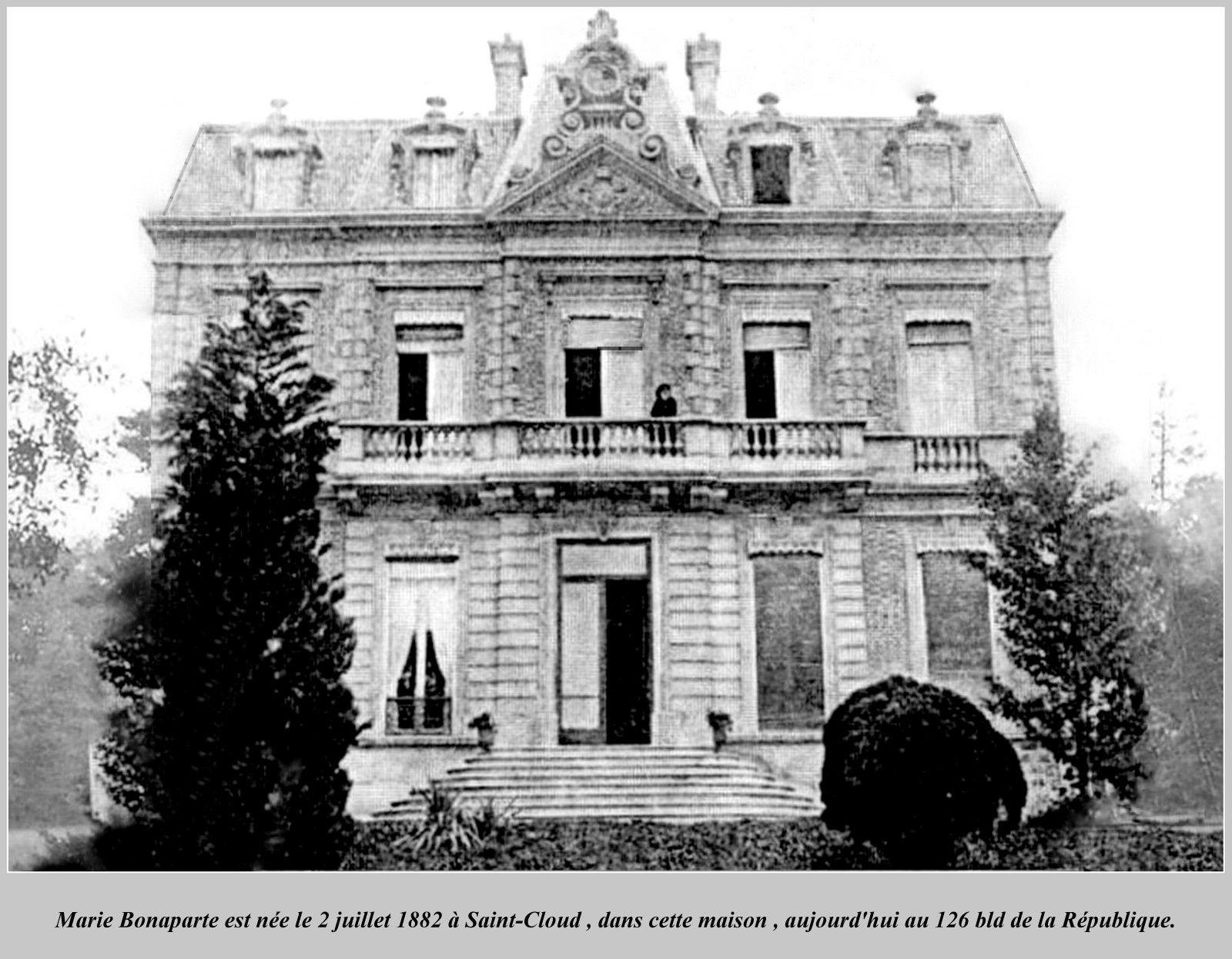 Villa bonaparte saint cloud