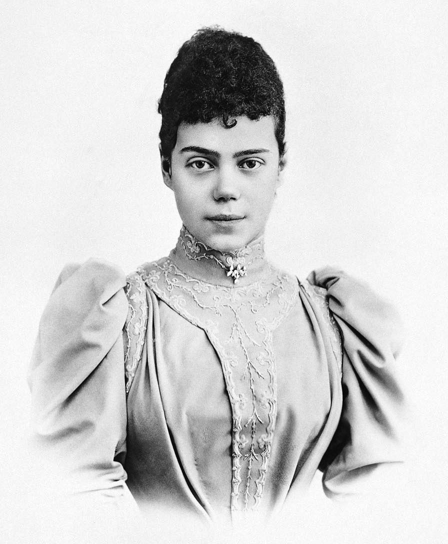 Xenia alexandrovna of russia c 1894